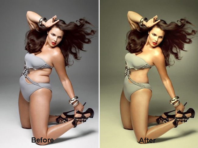 Airbrushing Nudes In Photoshop