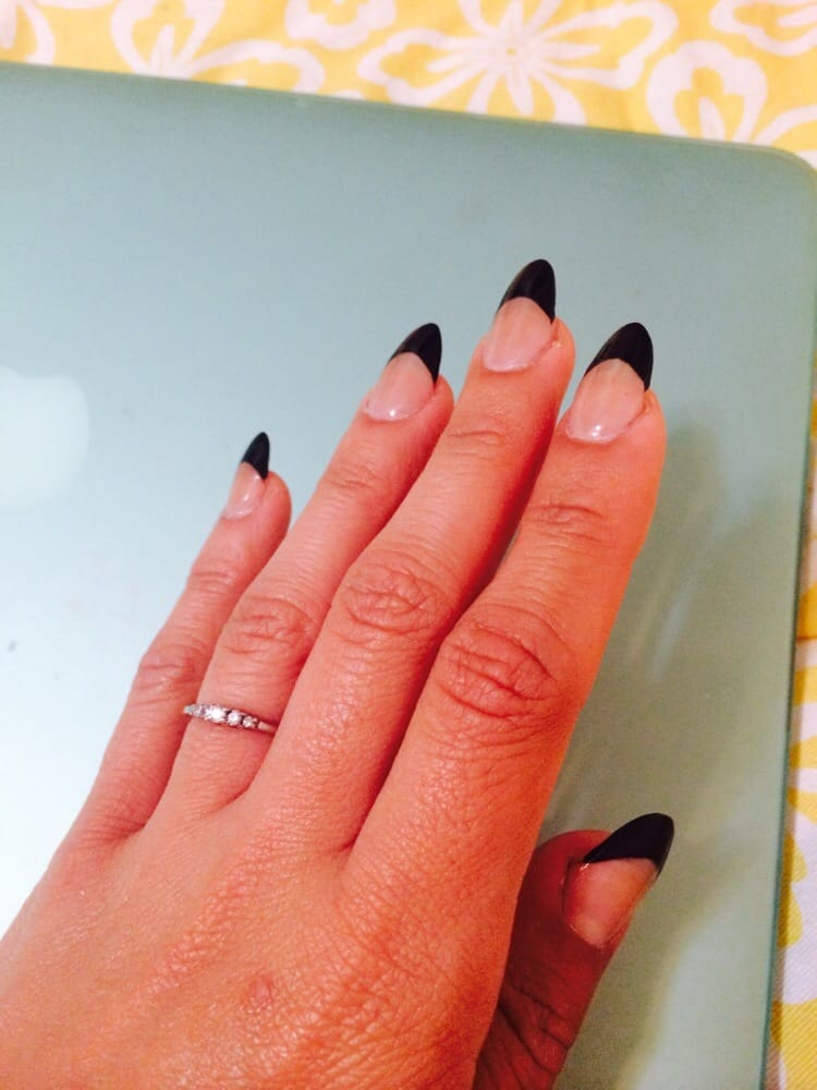 Almond Shaped Nude Nails
