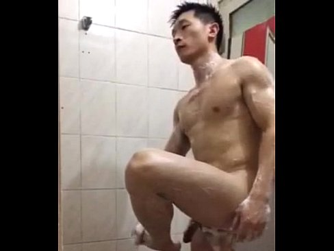 Asian Man Muscle Nude