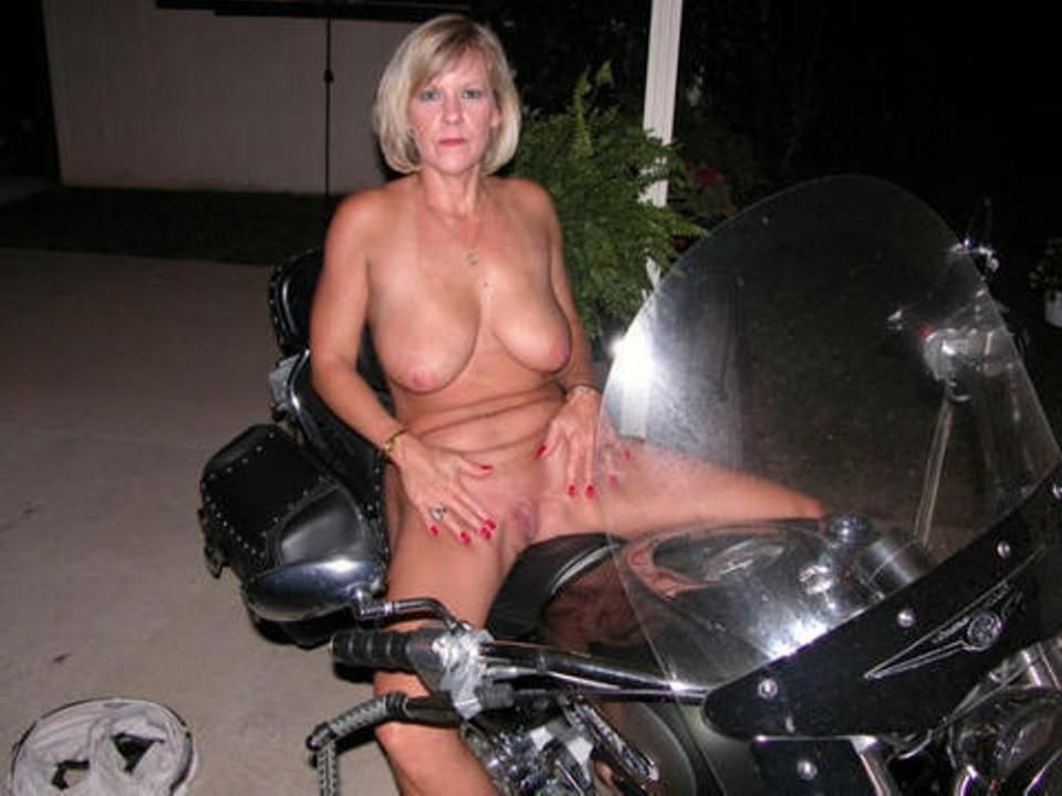 Biker Free Naked Picture Wife