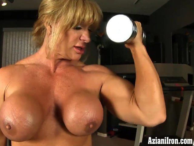 Body Building Female Free Nude