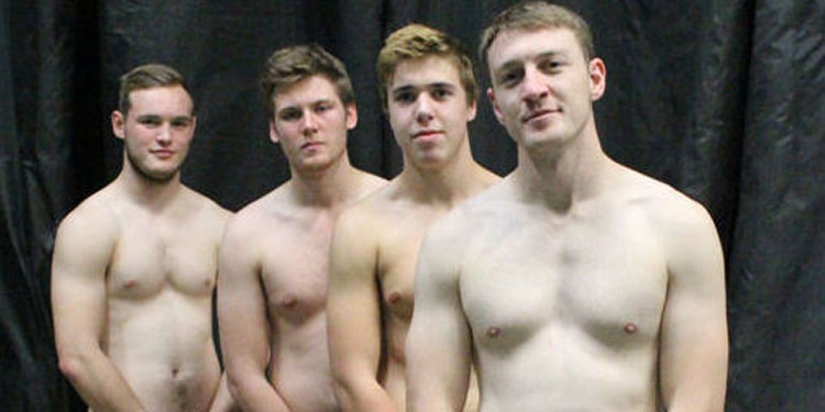 Calendar French Naked Rugby Team