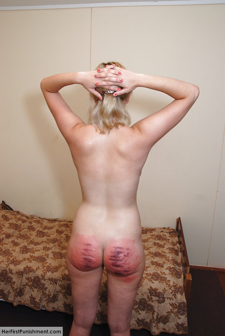 Caning Nude Girls