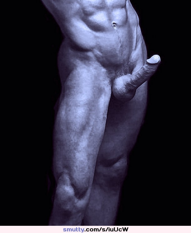Drawing Of Naked Male Muscular