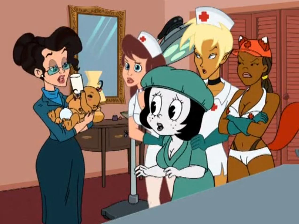 Drawn Together Girls Nude