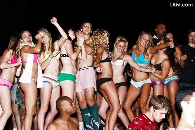 Fraternity Initiation And Naked Girls