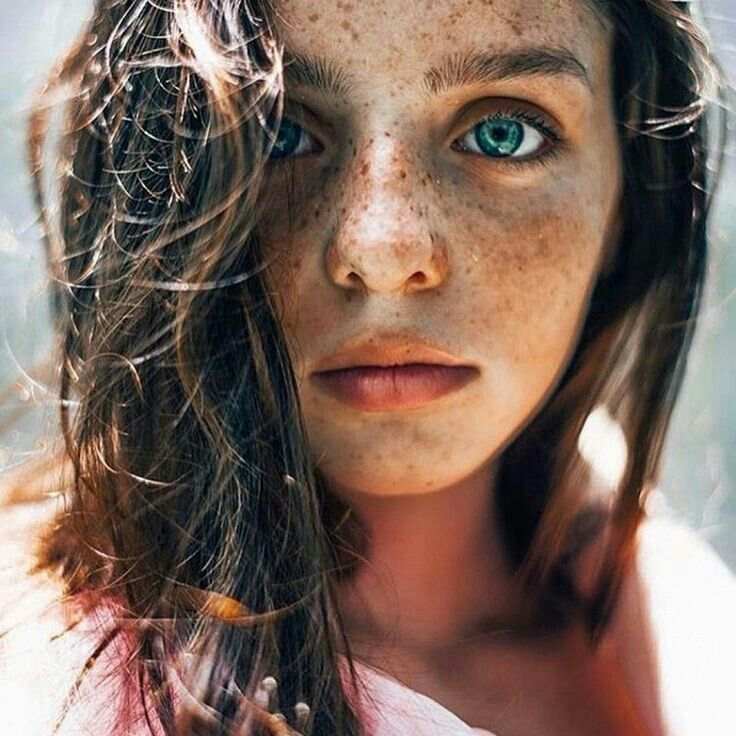 Freckle Face Women Naked