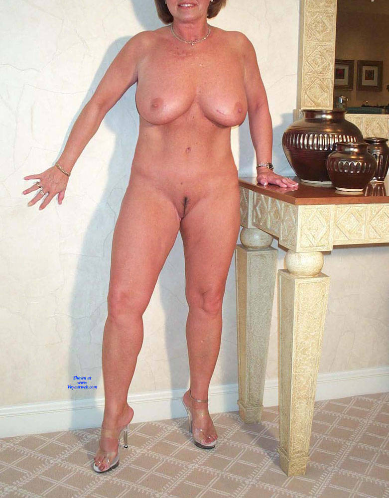 Fully Nude Old Woman