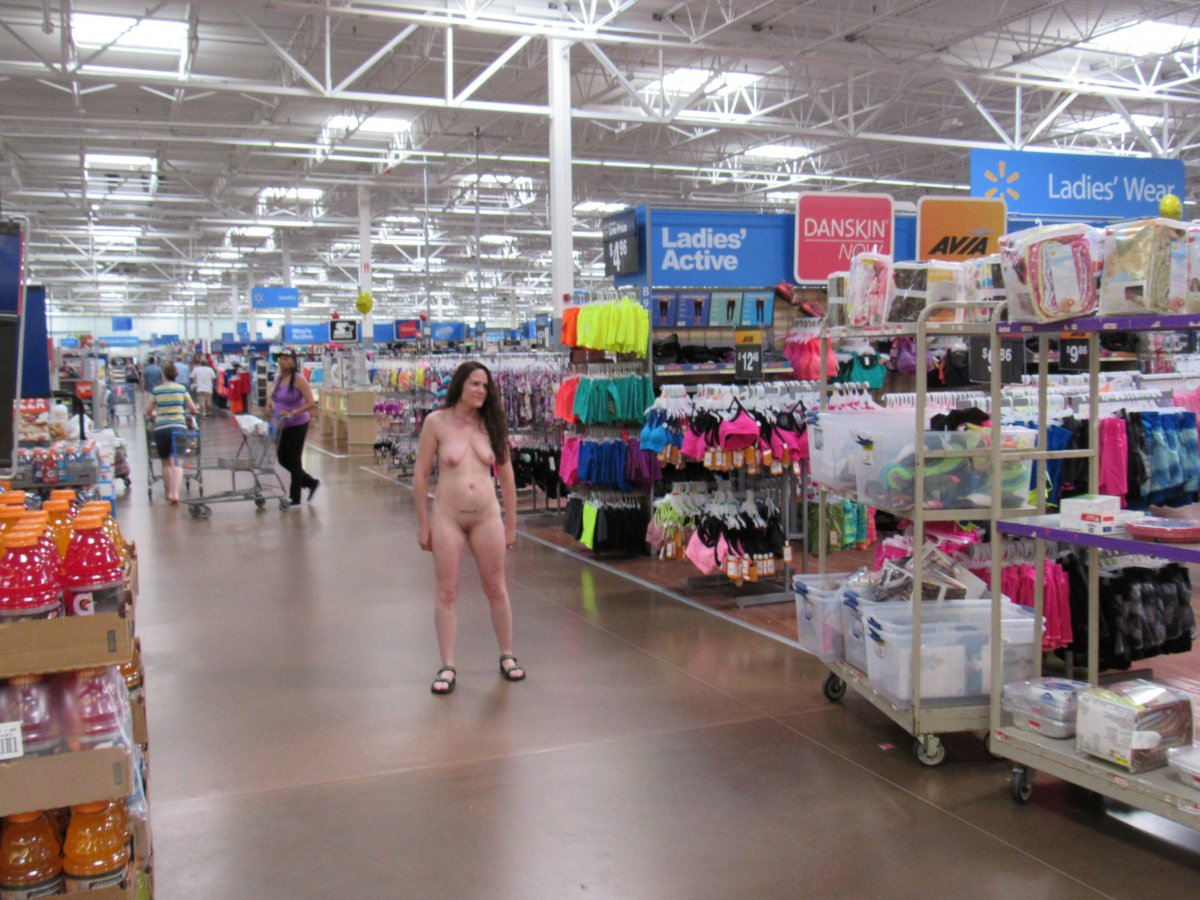 Girls Naked In A Store