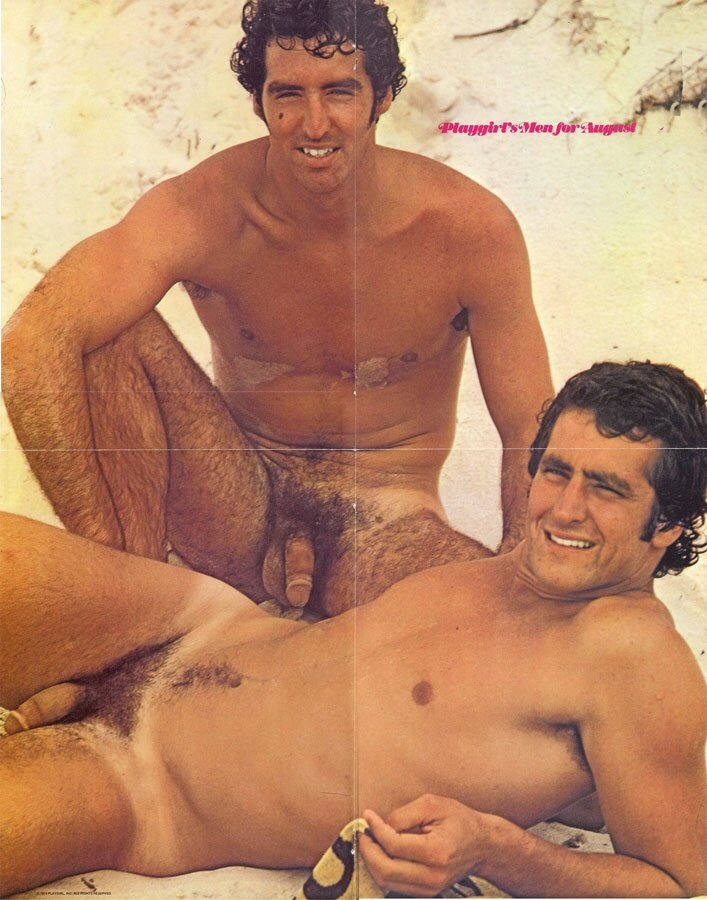 Hager Twins Nude Playgirl Photo