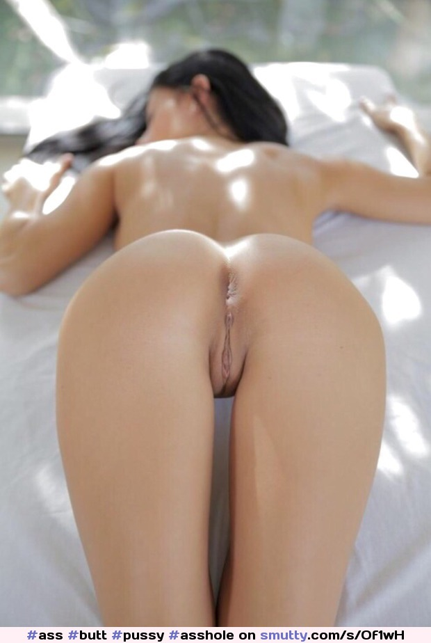 Hot And Naked Female Butt