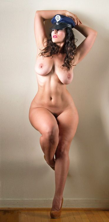 In Shape Naked Woman