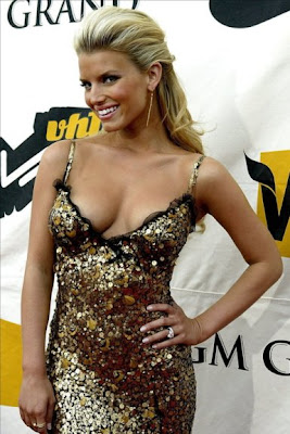 Jessica Simpson Naked Zip Nothing