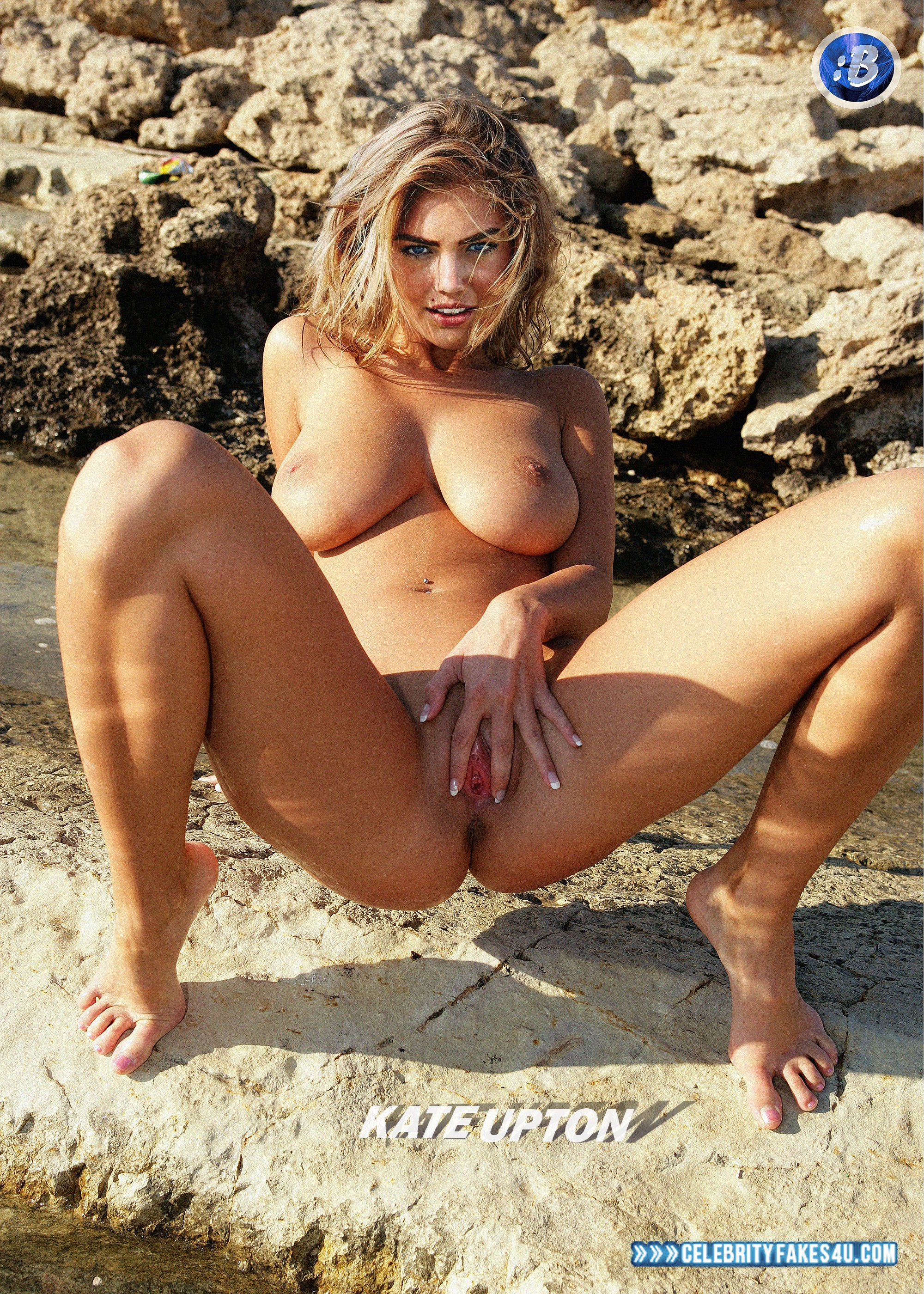 Kate Upton Nude Pussy