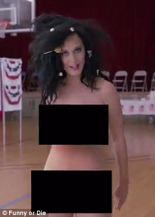 Katy Perry Nude Vote Uncensored
