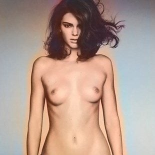 Kendall Jenner Nude Horse