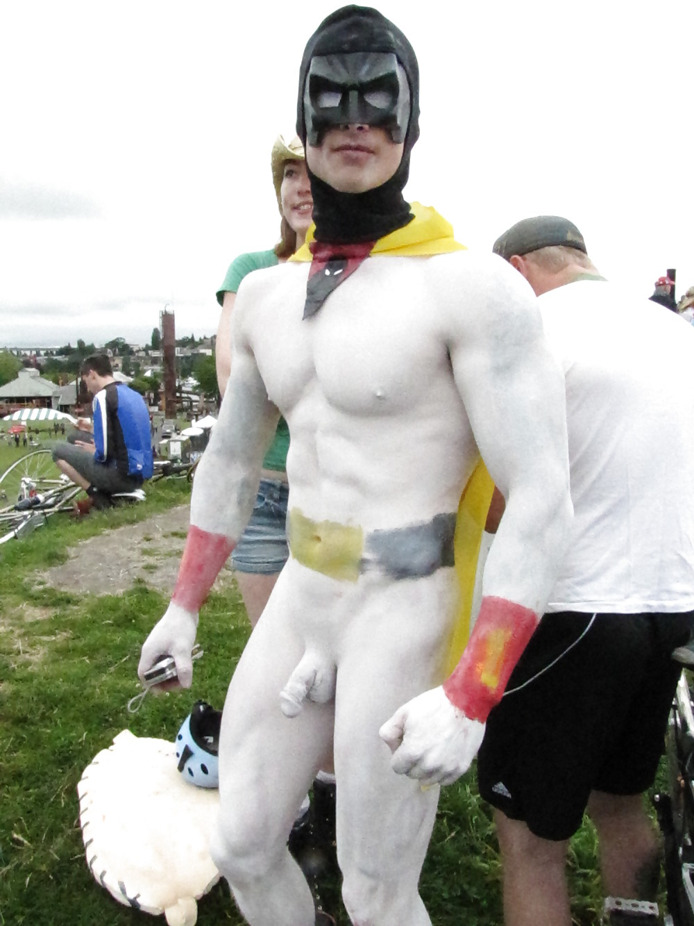 Male Naked Body Painting