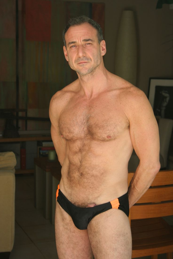 Mature Male Naked Old Bear