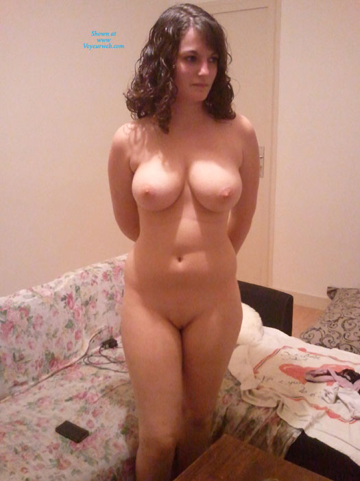 Mature Nude From Behind