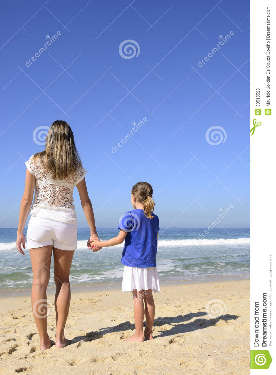 Mother At Nude Beach