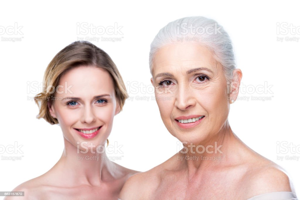 Mother Daughter Nude On Table