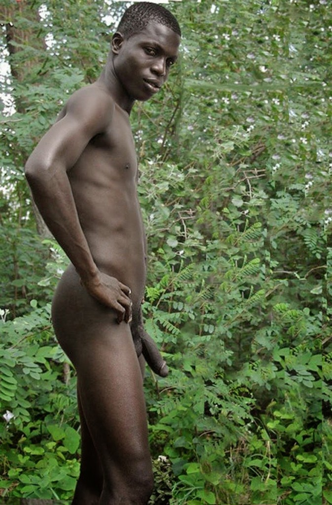Naked African Boy
