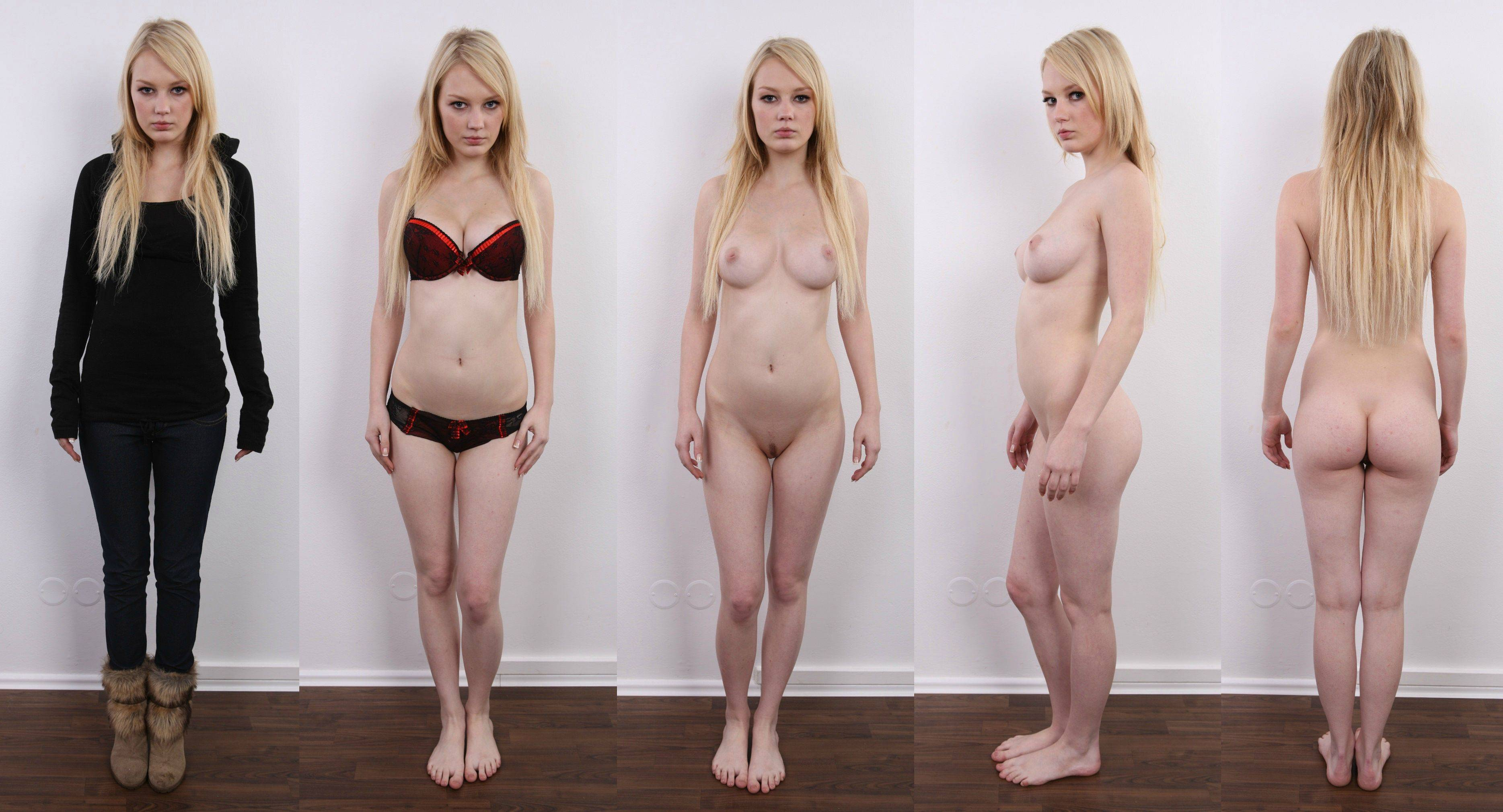 Naked And Dressed Women
