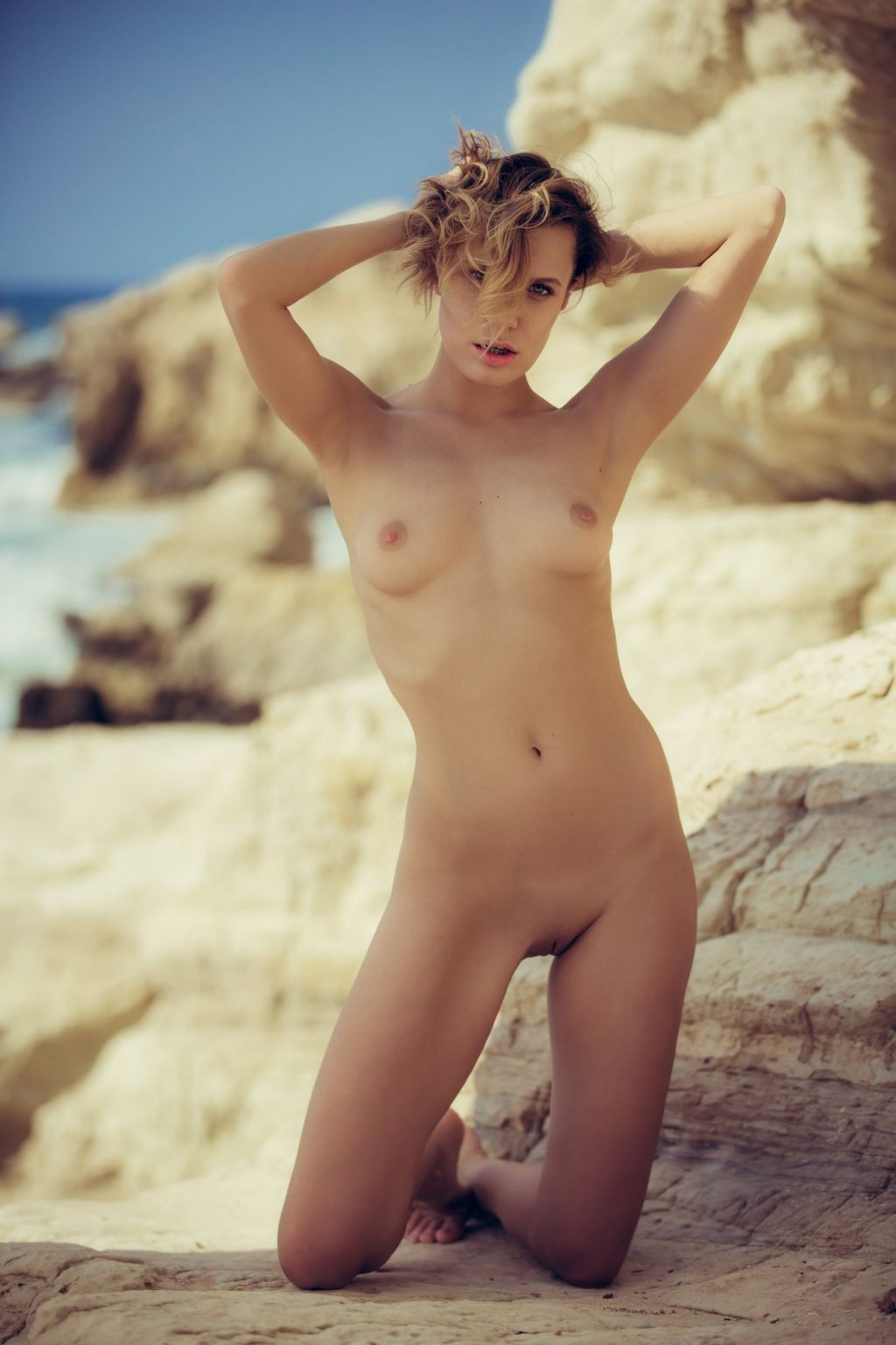 Naked And Nude Woman