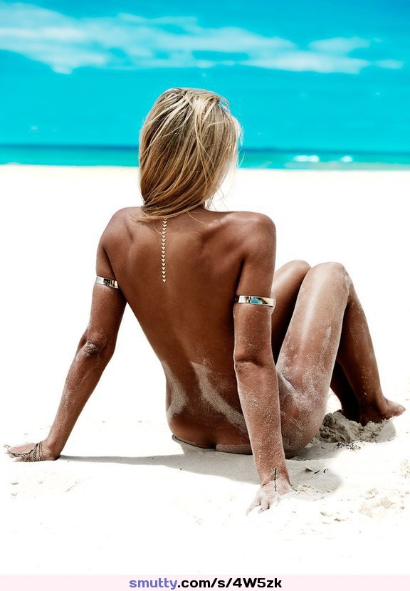 Naked And Tanned Bach Bunny