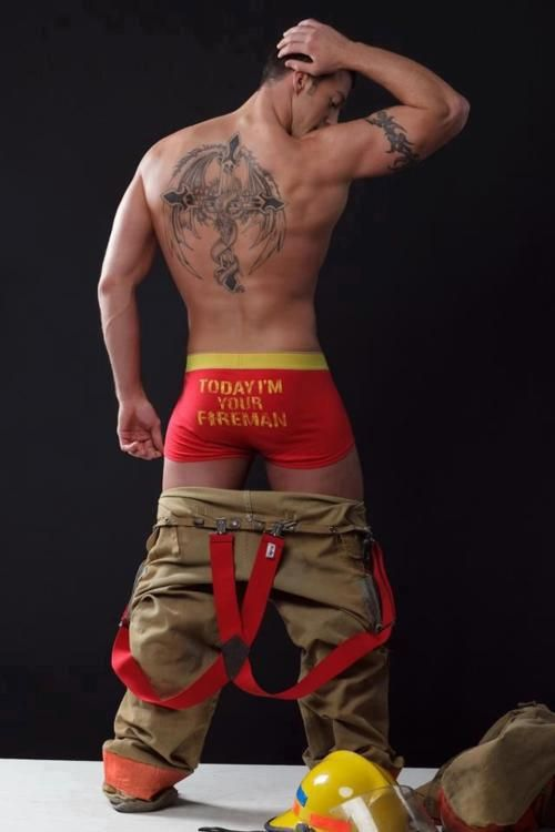Naked Gay Firefighters