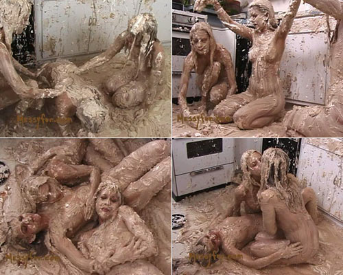 Naked Girl Pied