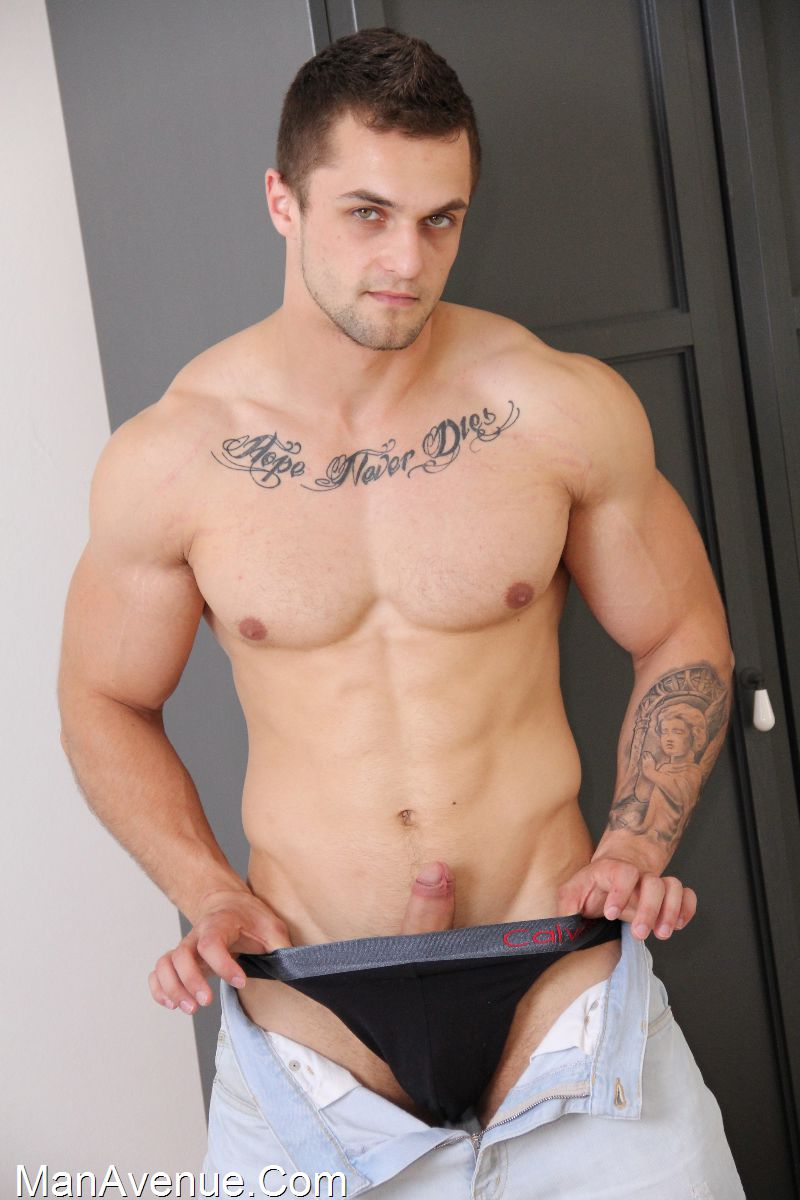 Naked Muscle Boy