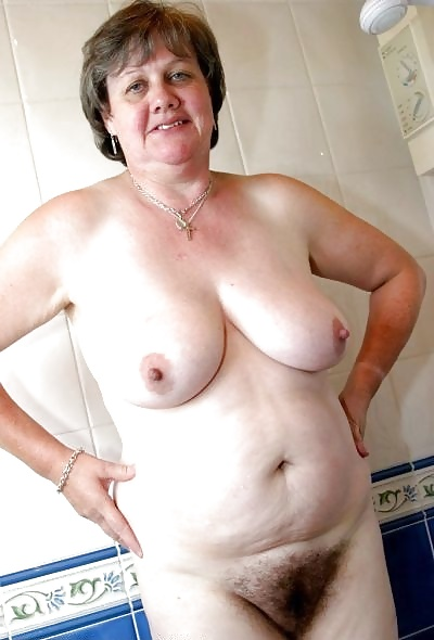 Naked Old Fat Titties