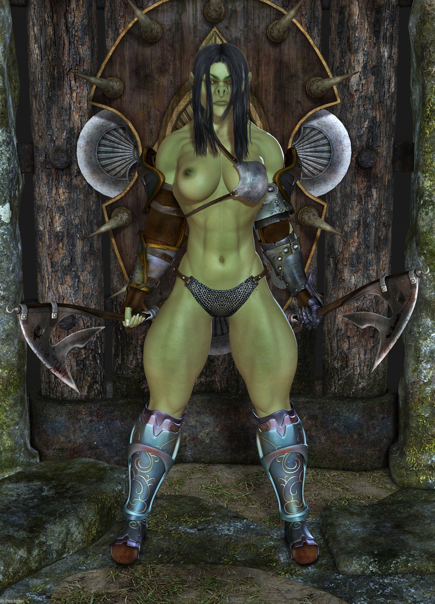 Naked Orc Female Video
