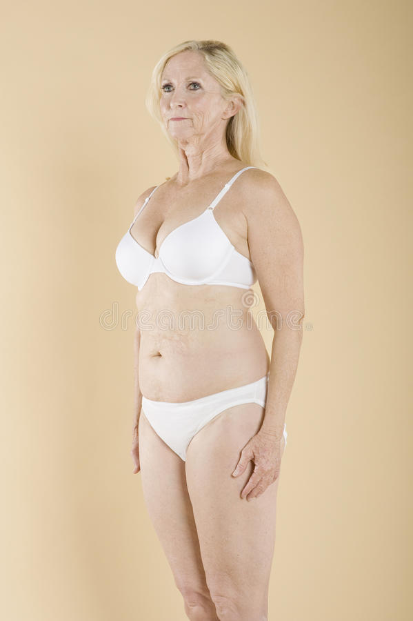 Naked Oude Vrouw