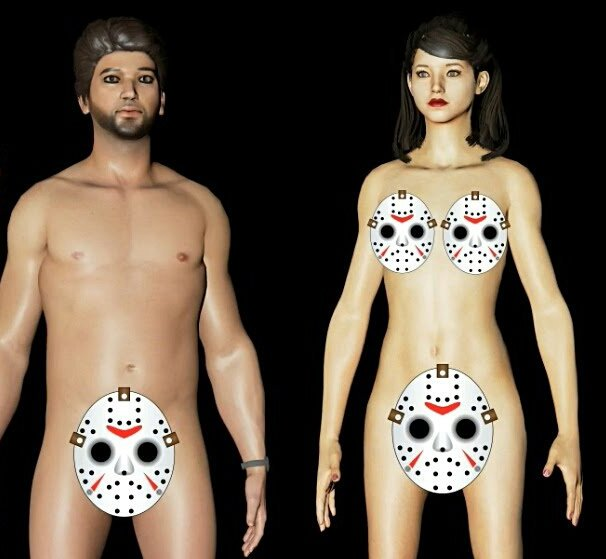 Naked People On Video Games