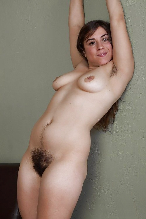 Naked Sexy Hairy Pussy