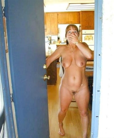 Naked Woman Busted