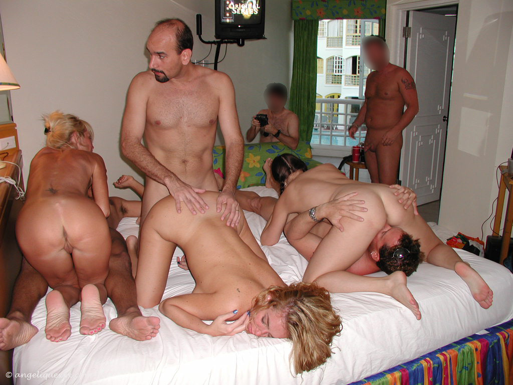 Naked Women Group Party Video