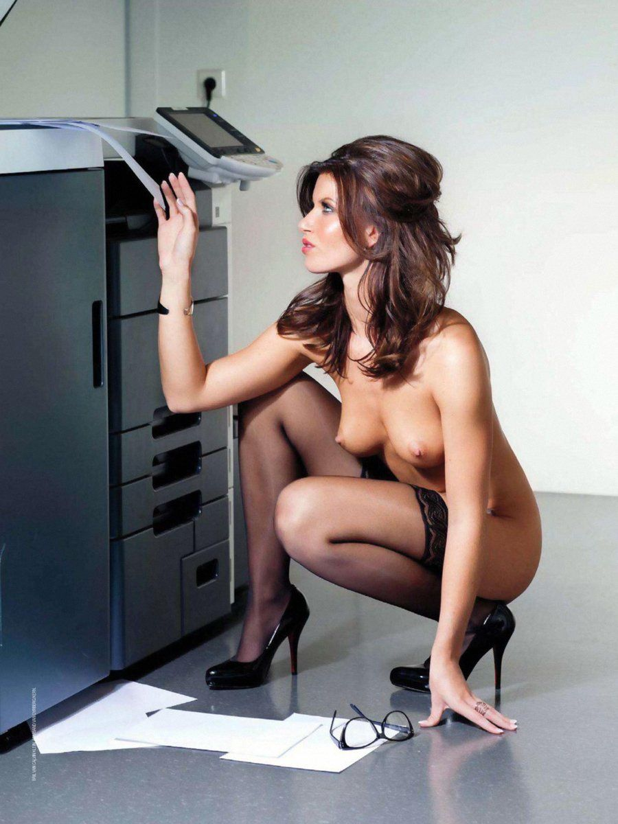 Naked Women In Offices