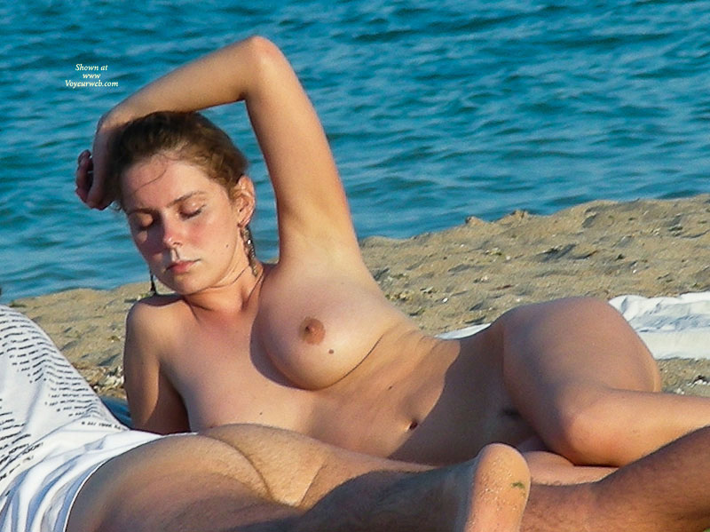 Naked Women In The Sea