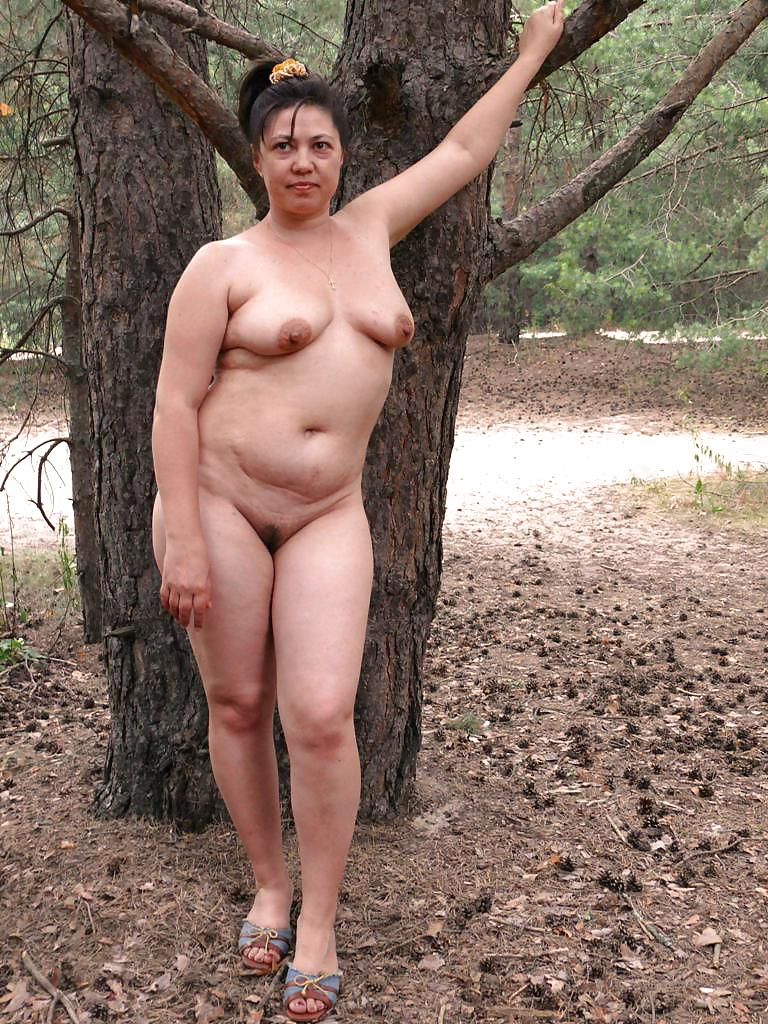 Naked Women In The Woods