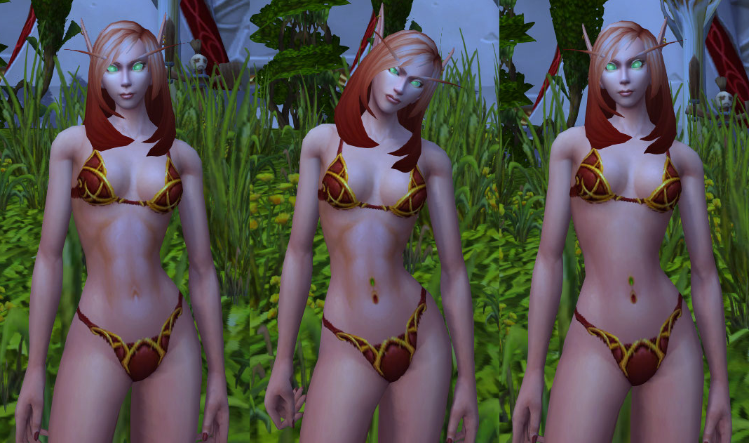 Naked Wow Character Mod