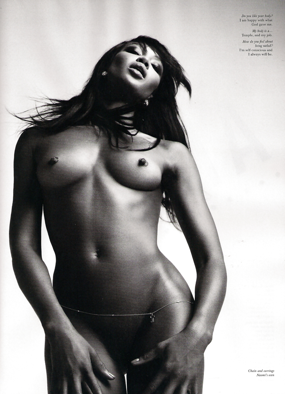 Naoni Cambell Nude
