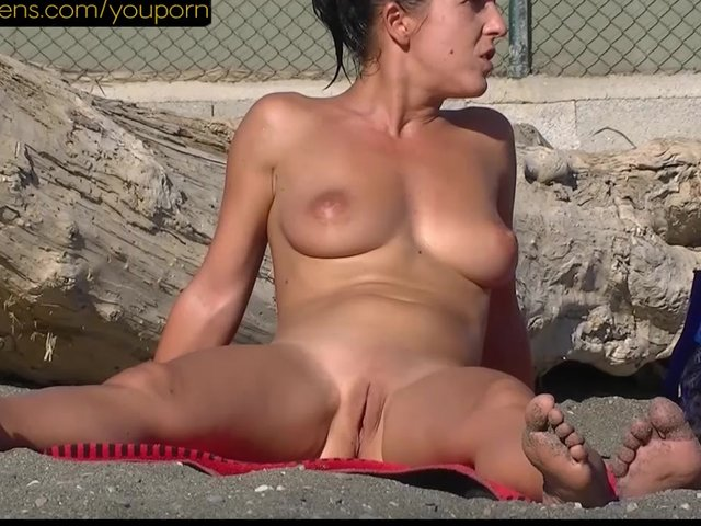 Nude Beach Shaved