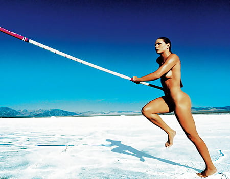 Nude French Pole Vaulter
