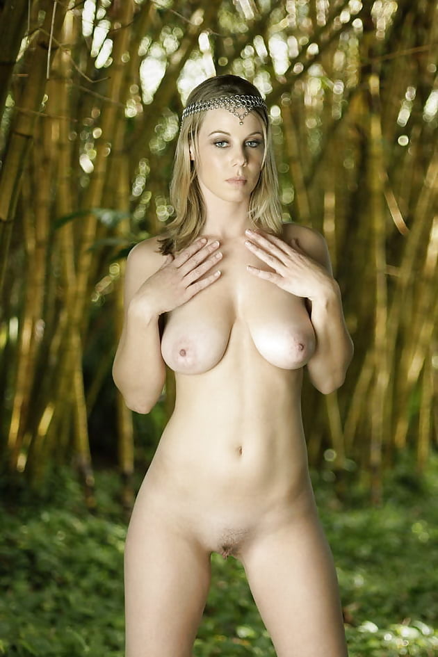 Nude In Forest