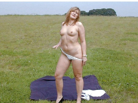 Nude In The Countryside