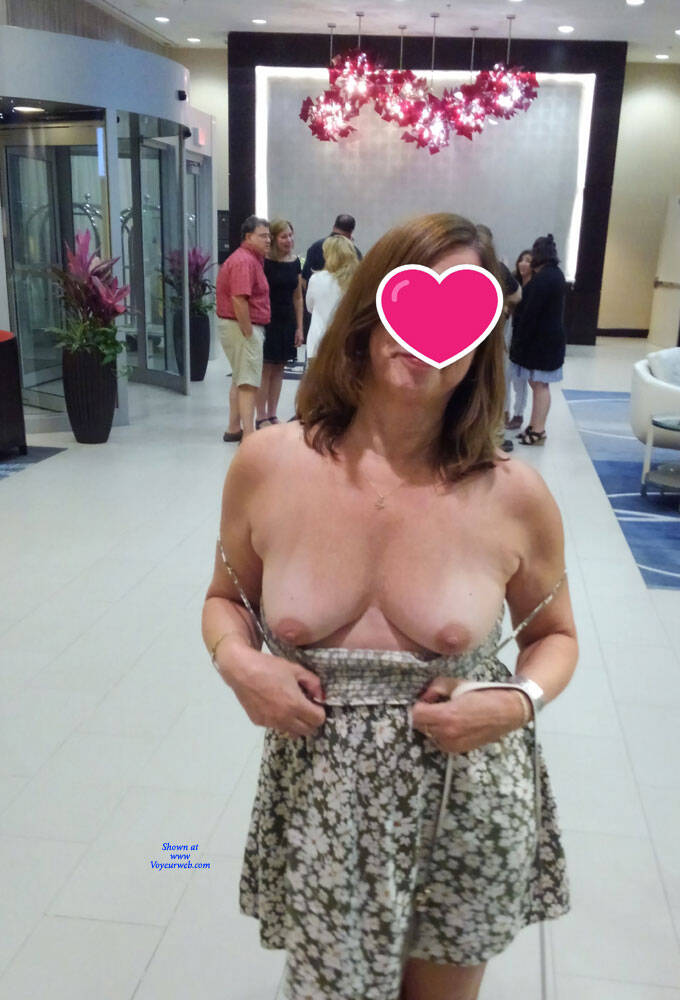 Nude In The Lobby