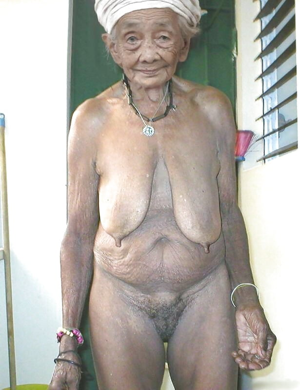 Nude Old African Women